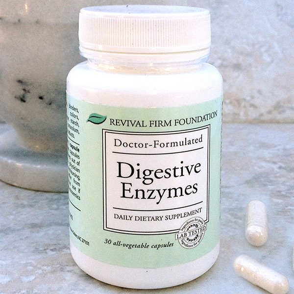 Firm Foundation Digestive Enzymes