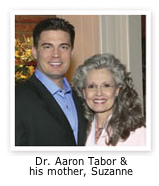Dr Tabor and his mom Suzanne