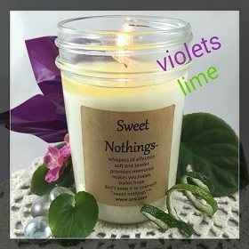 Sweet Nothings Soy Wax Candle
