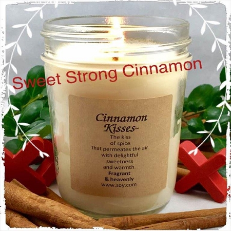 Cinnamon Kisses Soy Wax Candle