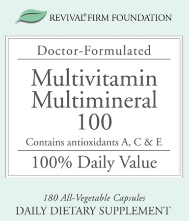 Revival® Firm Foundation Multivitamin & Multi-mineral