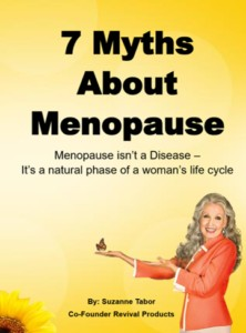 "BONUS 3: FREE Report ""7 Myths About Menopause"""
