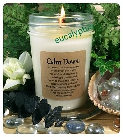 Calm Down Soy Wax Candle