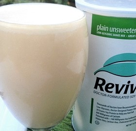 Revival PLAIN Soy Protein Shake 15 servings