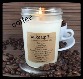 Wake Up!!! Soy Wax Candle